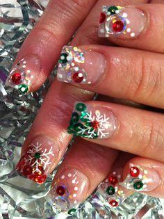 Nail Art: CHRISTMAS NAILS 2011