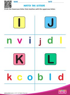 English match letters worksheets with printable for both preschoolers & kindergarten.Kids will be able to circle the lowercase letter that matches with the uppercase letter in these #worksheets.