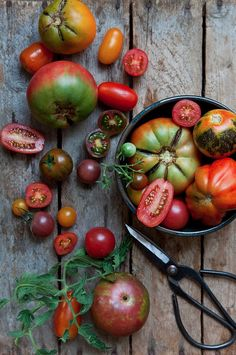 Love Heirloom tomatoes and vegetables