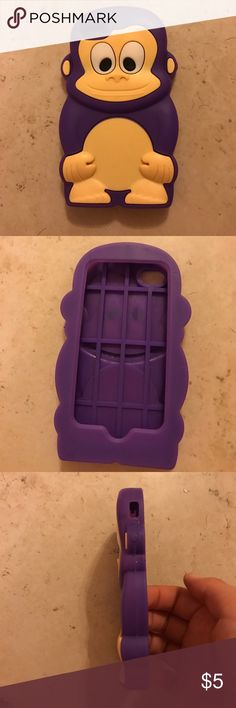 Never used iPhone 4/4S phone case! Never used! Very cute and protective! Accessories Phone Cases