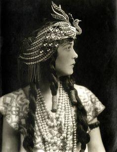 """maudelynn: """" Lily Cahill, by Davis & Sanford, c. 1913 """""""