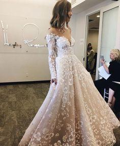 Hayley Paige Wedding Dress Lace Weddings, Wedding Dresses, Fashion, Bride Dresses, Moda, Wedding Gowns, Fasion, Dress Wedding, Bridal Gowns