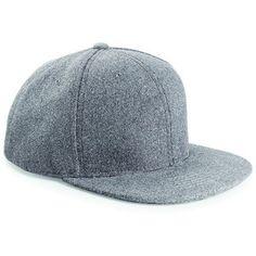 Beechfield Melton Wool Snapback Cap