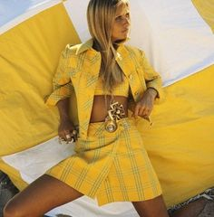 Vogue 1969, Does this not remind you of #Cher's outfit in #Clueless?