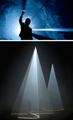 Five Minutes of Pure Sculpture by Anthony McCall