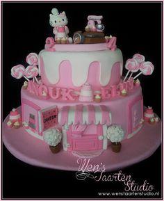 Hello Kitty Shop Cake