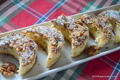 Prajitura Semiluna Kossuth kifli | Savori Urbane Pound Cake, Doughnut, Cake Decorating, French Toast, Cooking, Breakfast, Desserts, Food, Daily Cleaning