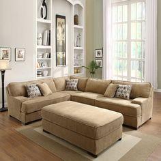 Corduroy Sectional Sofa