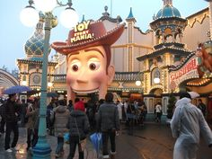 Toy Story MIDWAY MANIA! in Tokyo Disney Sea.