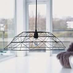 Black Or Copper Wire Lampshade