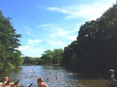 Hamstead Heath Ponds. London in the summer is magical. Here are my favourite ways to make the most of the sunshine in the UK's capital. From boats on the river to bars in the sky, parks to pub gardens and even a lido or two. We Londonners know how to make the most of our illusive London summer sunshine.