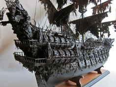 The world's only and the very best model of the famous black Flying Dutchman.