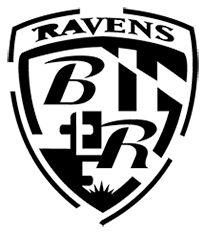 Ravens Logo Black And White