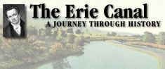 good video with pics and description and erie canal song