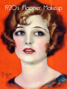 20s flapper makeup ideas for costume party... It's all in the eye brows (hint)