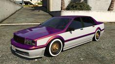 Albany Primo GTA 5 Custom Paintjob