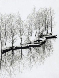 Flood at lake Skutari