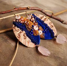 Warm evenings  statement elegant bead by BohemianSinShop on Etsy, $38.90