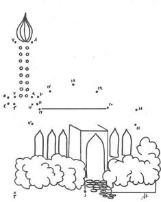 Pictures Of Mosque Colouring Pages Page