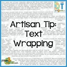 Wrapping+text+around+elements+or+photos+on+a+page+is