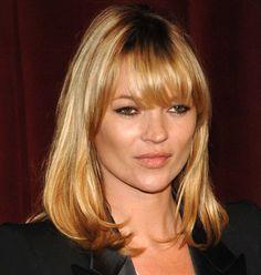 love the fringe... Kate Moss