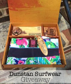 Celebrate Mom with Dunstan Surfwear Custom Board Shorts and Giveaway - Outnumbered 3 to 1