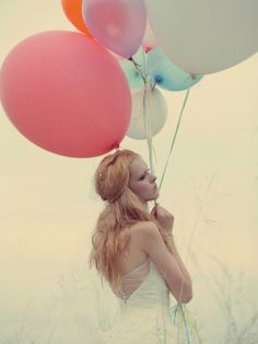 Fashion and Balloons! Lovely!    #fashion #balloons