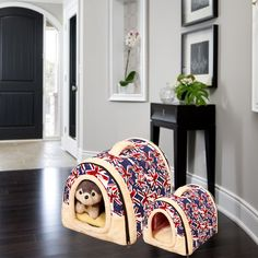 Hot Pets Cat's house Multifuctional goods dog bed  house For Small Medium Dogs Travel Pet Bed Bag Product Tent for animals