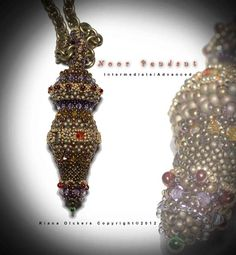 Bead Pattern Noor Pendant.  Can't wait to make this!