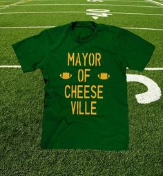 "Be the ""MAYOR OF CHEESEVILLE"" at the next Green Bay Packers game! FREE SHIPPING TO ALL U.S. CUSTOMERS."