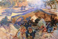 The Athenaeum - Syrian Gypsies (John Singer Sargent - )
