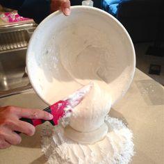Buttercream and marshmallow fondant recipe