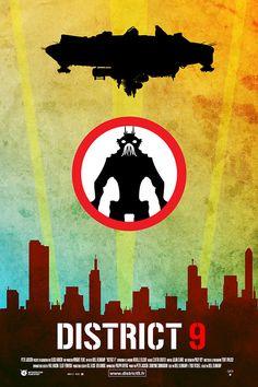 District 9 minimal poster on Behance