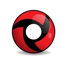 Ninja Mangekyu - Manga Linse (rote Kontaktlinse von Lensspirit) #contacts #contactlenses