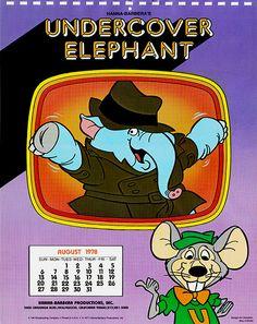 kkkkk Quem não perceberia um elefante detetive? kkkkk