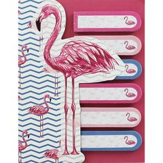 Flamingo Sticky Note Tabs | Sticky Notes at The Works