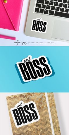 Girl Boss Stickers | Planner Stickers | Laptop Sticker | Feminist Sticker | Girl Power Sticker Sheets | Boss Babe | Small Business | Packaging Stickers | Etsy, Poshmark, LuLaRoe