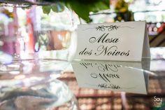 Mesa dos Noivos / Decoração de Casamento DIY