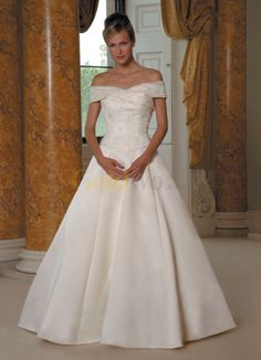 #dress This is a great cut, would like it without a train... ivory or champagne