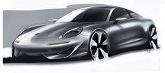 Porsche Ideations - Alan Derosier