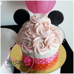 Bigcupcake minnie #barranquilla #pinksugar #tortasbarranquilla