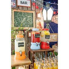 {SuqueiraTag de GizGarrafinhaCanudo de Papel} no Chá Bar c/ Decor @taispuntel Veja no site http://ift.tt/1Eqrxk6 by shopfesta