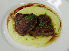 Seared Beef Tornadoes recipe from Robert Irvine via Food Network