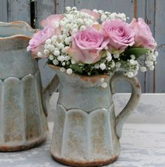 Shabby im Garten - Shabby white by cottagedreams.ch