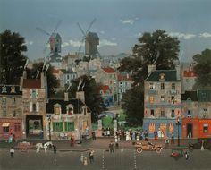 Michel Delacroix, Mariage Parisien, Lithograph on Paper, Limited Edition