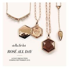 Yes way. Coming your direction next month. Rose gold everything. We know... We can't wait either. #sneakpeek #stelladotstyle by stelladot