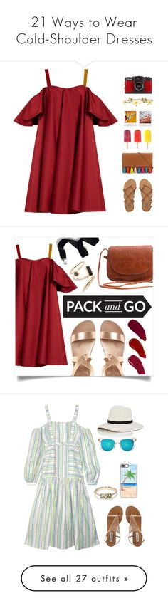 """""""21 Ways to Wear Cold-Shoulder Dresses"""" by polyvore-editorial ❤ liked on Polyvore featuring coldshoulderdresses, Anna October, Billabong, Rebecca Minkoff, Été Swim, Holga, Polaroid, LØMO, Ellis Faas and Sweet Romance"""