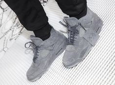 The KAWS x Jordan capsule, which will include the Air Jordan 4, will release in Greater China on March 28th and March 31st globally.