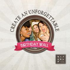 Create a Birthday Wall for your friends. With 5 or more birthday wishes Rituals will send your friend a free gift!