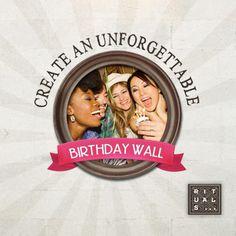 Crea un Muro de cumpleaños para tus amig@s. Recibirán un regalo Rituals cuando 5 amig@s dejen un mensaje en tu Muro de Cumpleaños. Sorprende a tus amig@s y crea un Birthday Wall!